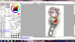W.I.P : Amy Rose Value by ClassicAmy