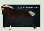 996 She's My Drama Queen by Kaninkompis