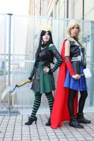 Loki and Thor by Aires89