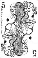 5 of spades by vasodelirium