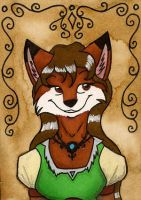ACEO for SelendrileDragoon by FoxInShadow