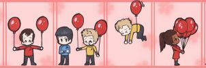 STXI: 99 Red Balloons by niirasri