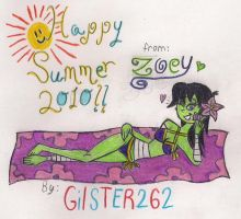 Happy Summer 2010 Zoey by gilster262
