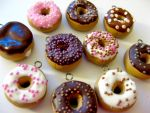 Mini Donut Charms by TRAVALE