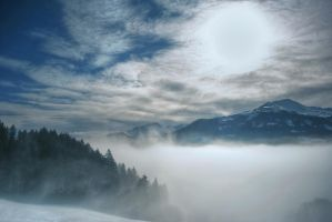 Misty Mountains by Caszs