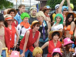 Anime North 2012 - One Piece Cosplay by jmcclare