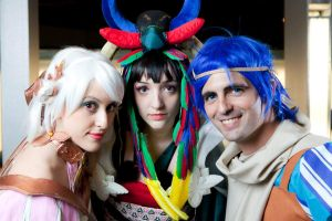 Baten Kaitos Portraits by crispychickencosplay