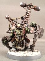 Big Mek w/ Kustom Force Field by Punk-Noir
