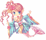 Kimono Mermaid Adopt (SOLD) by Candy-DanteL