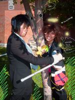 KH-R Cosplay - Treehuggers by Taymeho