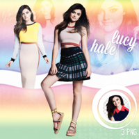 PNG Pack(290) Lucy Hale by BeautyForeverr