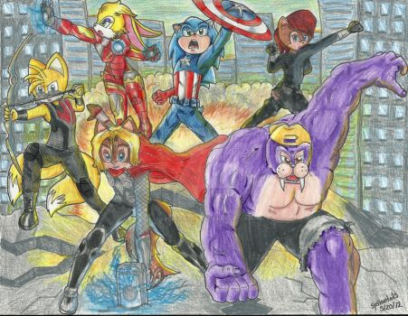 Avengers by Syellowtails