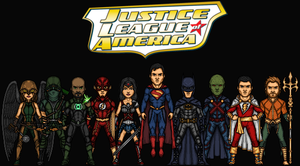 Justice League of America (Earth-1) by Hernan20X