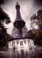 Top of the Petrin Hill by Beezqp