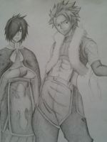 Rogue Cheney and Sting Eucliffe by Eruzaah