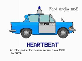 """Ford Anglia 105E """"Heartbeat"""" by YanamationPictures"""