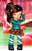 Vanellope by CreativeCarrah
