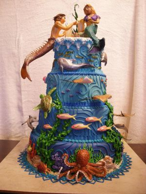 HBD XIAH [2009.12.15] Lost_Atlantis_Cake_by_The_EvIl_Plankton