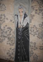 Sephiroth Pant leg by DJesterS
