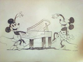 Mickey Mouse Vintage by Sikorax