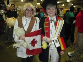 me and Prussia by lisabean