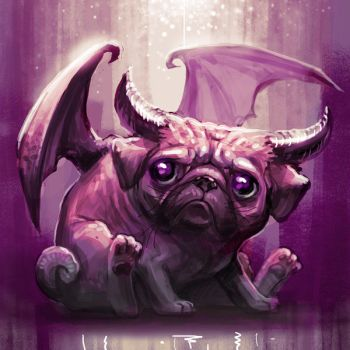 Pug by x-catman
