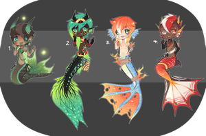 Mer-Adopt auction [ CLOSED ] by ButterflyBandit