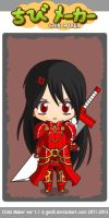 Joan Chibi (chibi maker) by AmbiguouslyAwesome1