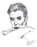 David Bowie... by Marsaliath