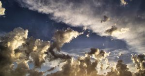 Contrast in Clouds by seanieisere