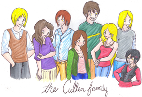 The Cullens by findawaytosmile