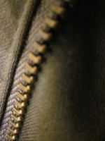 Zipper close up by LightsOnLuna