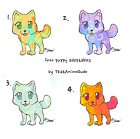 free puppy adoptables by ThatAnimeDude