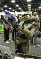 Master Chief (foam build) - Adelaide Oz Comic-Con by Old-Trenchy