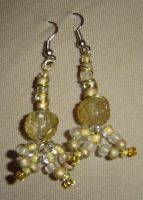 Gold and yelow Mermaids by ammajiger