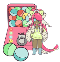 OPEN: Gachapon adopts ! (CLOSED) by glittergloo
