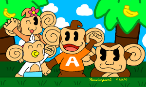 Super Monkey Ball Crew by MarioSimpson1
