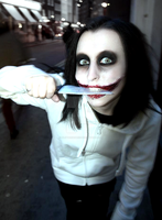 Aren't I Beautiful? - Jeff the Killer by GlitterDebris