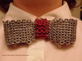 Chainmail Bow Tie by ulfchild