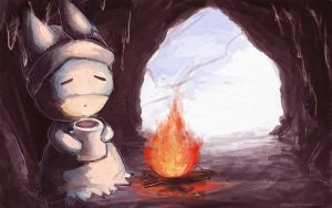 Munchlax Hot Coffee by GlassPanda