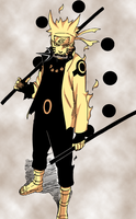 Naruto Sage of Six Path (Manga 673) by SharinganXnoXKakashi