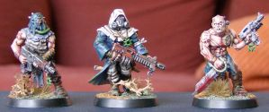 DV Cultists #1,2,3. by DoomsdayGeneral