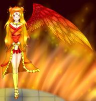 Fire wing by bleding-rose