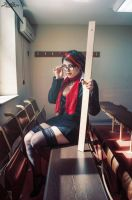 Headmistress Fiora Cosplay by platypa