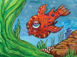 Schtizwhistle The Fish by nathanmarciniak