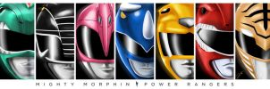 Mighty Morphin Power Rangers: Seven by WeaponXIX