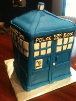 The Doctor's TARDIS by simplysweets
