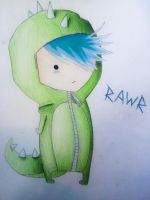 RAWR Chibi by Sam--I--Am