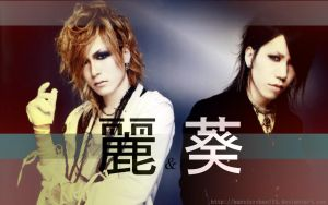 Uruha and Aoi wallpaper by hamsterchan155