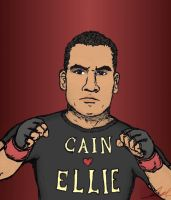 Cain Velasquez Loves Ellie by StickstoMagnet